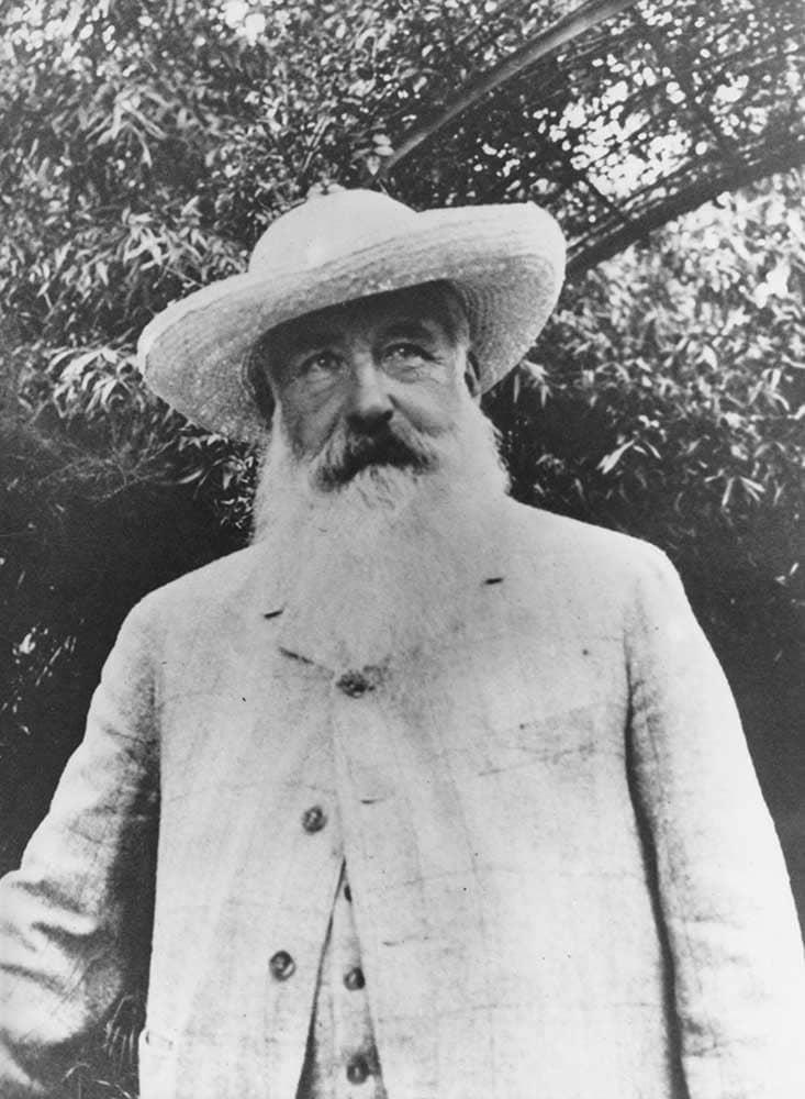 Claude Monet dans les jardins de Giverny par Sacha Guitry