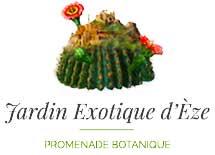 Logo du jardin exotique de la ville d'Eze