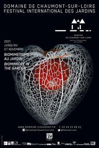Affiche du Festival International des Jardins du domaine de Chaumont-sur-Loire, édition 2021